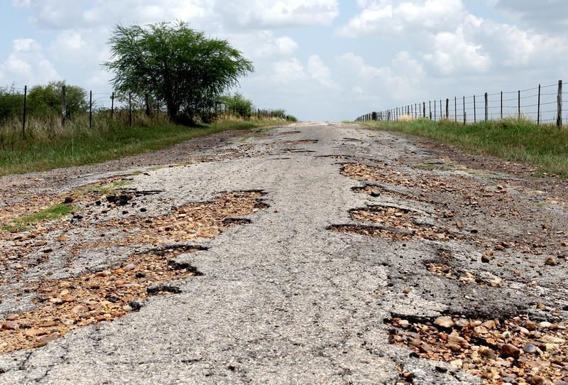 Road Damage From Fracking