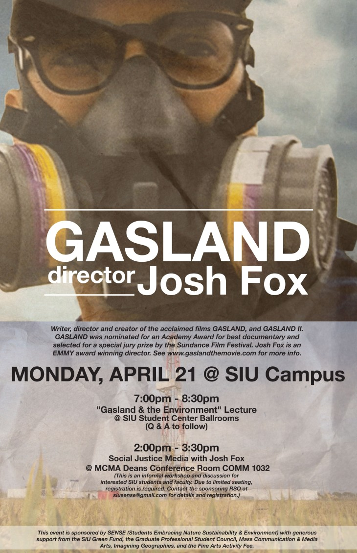 Josh Fox in Carbondale