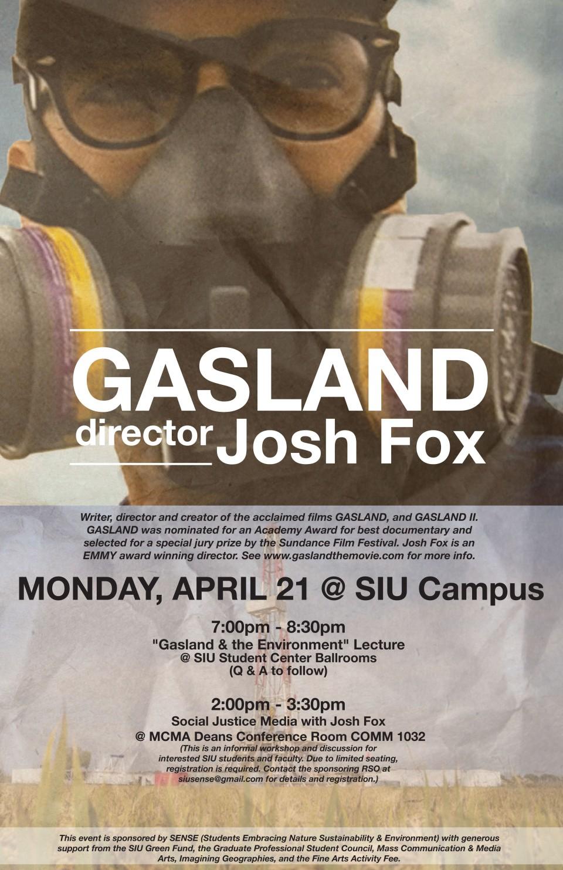 Josh Fox in Carbondale