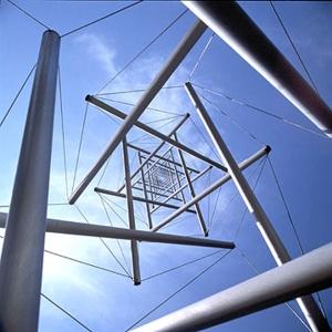 BuckminsterFuller-TensegrityStructure